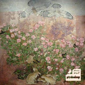طبیعت-نقاشی طبیعت- جزییات- الهام نفیسی