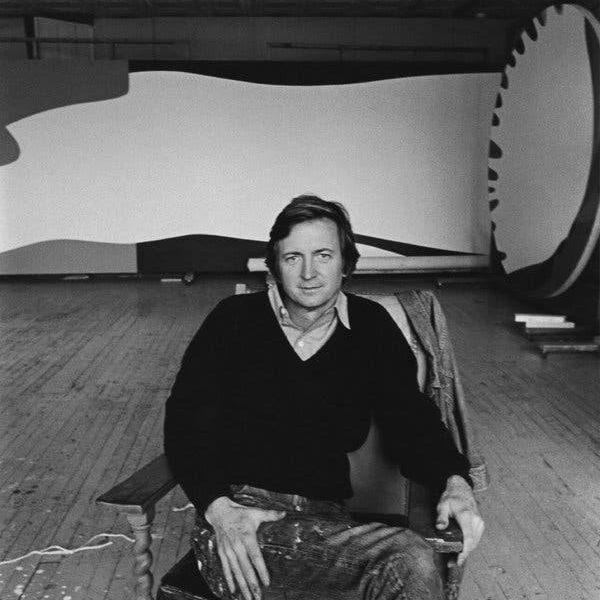 """جک یونگرمن، نقاشی که بعد از گسترش سبک """"اکسپرسیونیم انتزاعی"""" دست به تولیدات انتزاعی می زد در 93 سالگی درگذشت."""