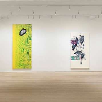 نقاشی های انتزاعی دیوید رید