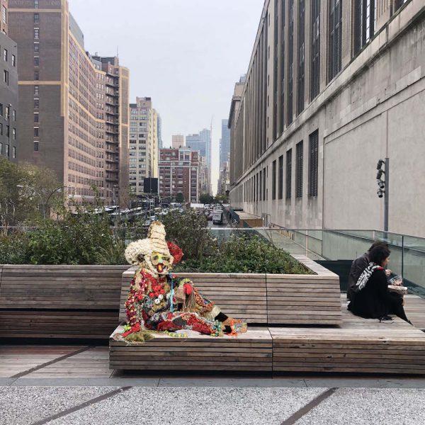 """رونمایی از پروژه عمومی """"خط بالا"""" در نیویورک"""