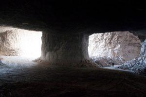 اثری از نمایشگاه سنگ و نمک در گالری دنا از یوریک کریم مسیحی