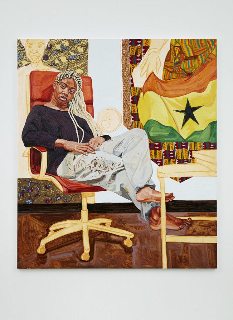 Jordan Casteel, Kimmah (2019). Courtesy of the artist.