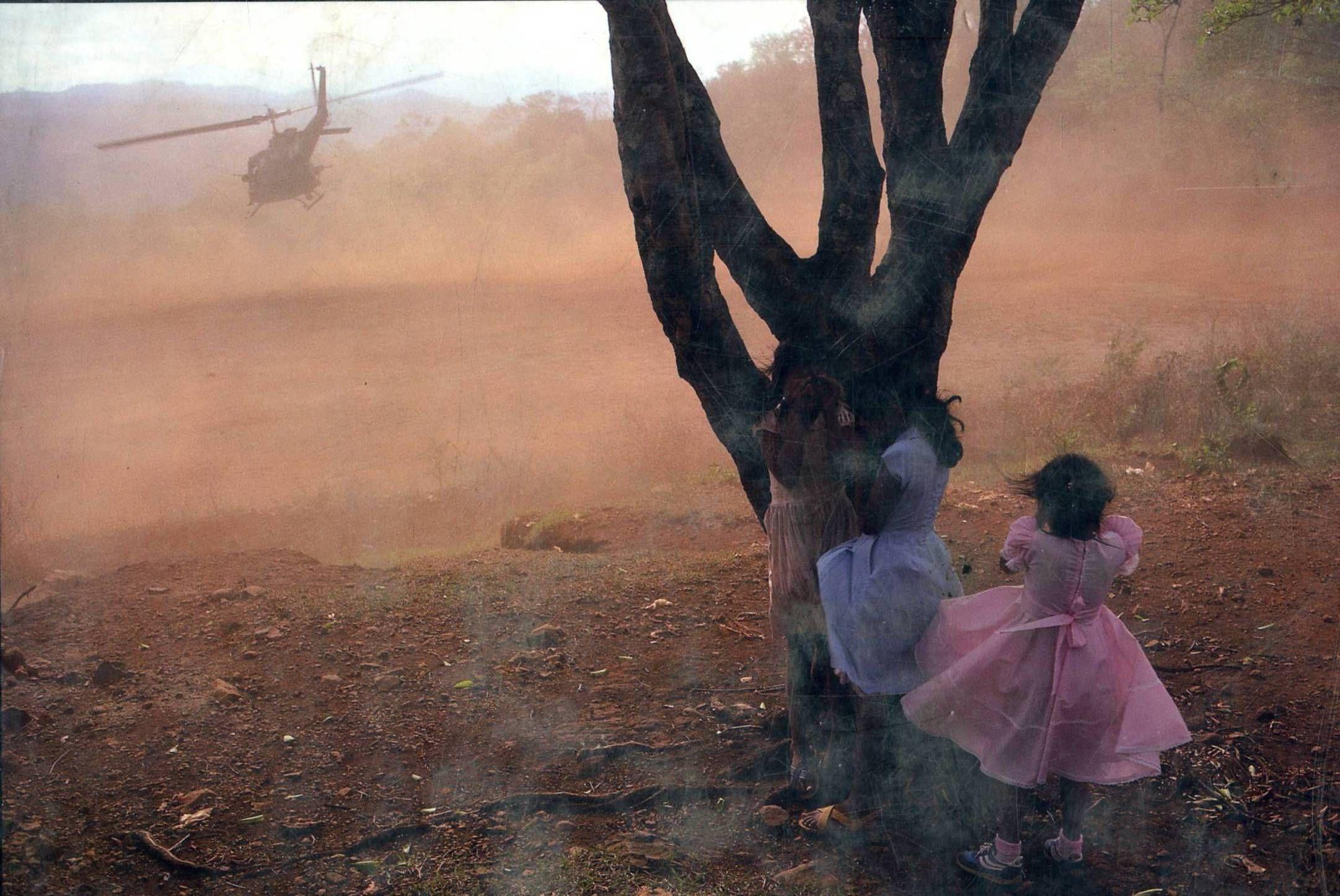 8-گوشه هایی از هراس ناشی از جنگ داخلی. 1984، ال سالوادور، جیمز نچوی