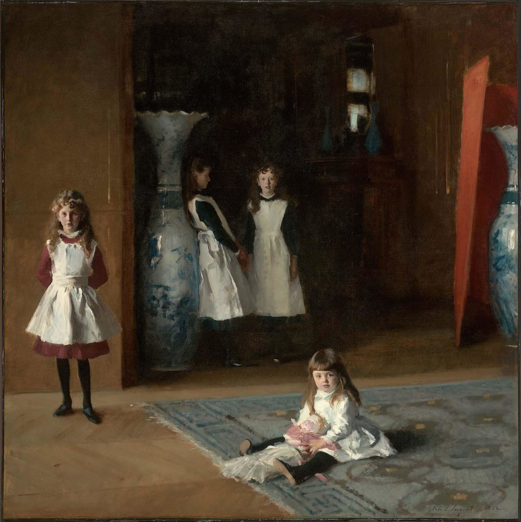 John Singer Sargent, The Daughters of Edward Darley Boit (1882). Courtesy of the Museum of Fine Arts, Boston.