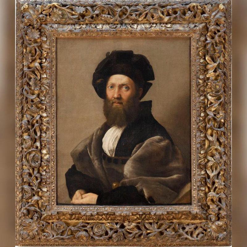 Raphael, Portrait of Baldassarre Castiglione (1513)