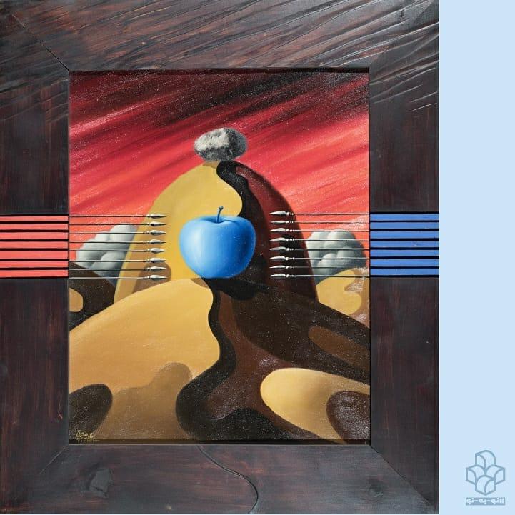 . #نو_به_نو هر روز یک اثر از #گنجینه_موزه_هنرهای_معاصر_تهران | ۱۳ | مجموعهی ائتلاف شامل چهل فریم نقاشی است که موزهی هنرهای معاصر تهران چهار فریم آن را در اختیار دارد. این آثار تصویری سورئال و نمادین از چگونگی اتحاد قدرتهای جهانی با هدف نابود کردن عشق و ارزشهای انسانی ارائه میدهد. #صادقی، هم سیب را به خودی خود یک مفهوم به حساب آورده، هم از آن مفهوم گرفته همچنین از آن به عنوان یک درون مایهی زیبایی شناختی استفاده میکند. اشکال و رنگهای مختلف سیب دارای ارزشهای نمادین متفاوتی هستند: سیب زرد به «تقدس و قداست»، سیب قرمز به «عشق»، سیب سبز به «پاکی» اشاره دارد و سیب آبی، سمبل آزادی و سیب سیاه، نشانه ای از مرگ است. از منظر #علی_اکبر_صادقی سیب نشانی از ارزشهای انسانی است. ایدهی #ائتلاف، تقریباً حول و حوش واقعهی یازدهم سپتامبر برای او به وجود آمد. سیبها در این رابطه، از مردم بیگناهی حکایت میکنند که قربانی حملات بودند. و در واقع نمادی از ظلم و بیرحمی است که ویژگی و معرف سیاستهای جهانیاند. رنگهای قرمز، آبی، و سفید، اشاره به رنگهاییدارند که پرچم قدرتهای جهانی از آنها شکل گرفتهاند. ائتلاف بیانگر آن است که ایجاد ائتلافی به نام عشق و انسانیت به جای جنگ و حرص، چقدر شگفتانگیز و شگرف است. متن: #فرشته_موسوی . گرافیگ: #مهدی_فدوی عکس: #مهناز_صحاف علیاکبر صادقی از مجموعهی ائتلاف ۸۱ - ۱۳۸۰ ش رنگروغن روی بوم و حکاکی روی چوب ابعاد اثر اول: ۵۰ * ۵۸ سانتیمتر ابعاد اثر دوم: ۶۰ * ۵۰ سانتیمتر ابعاد اثر سوم: ۵۰ * ۶۰ سانتیمتر ابعاد اثر چهارم: ۴۸ * ۵۸ سانتی متر مجموعهی #موزه_هنرهای_معاصر_تهران Ali Akbar Sadeghi (Iranian,1937) From the Coalition Collection 2001 - 2002 Oil on canvas & engraving on wood sizes of first work: 58 x 50 cm second one: 50 x 60 cm Third one: 60 x 50 cm Fourth one: 58 × 48 cm The Collection of TMoCA