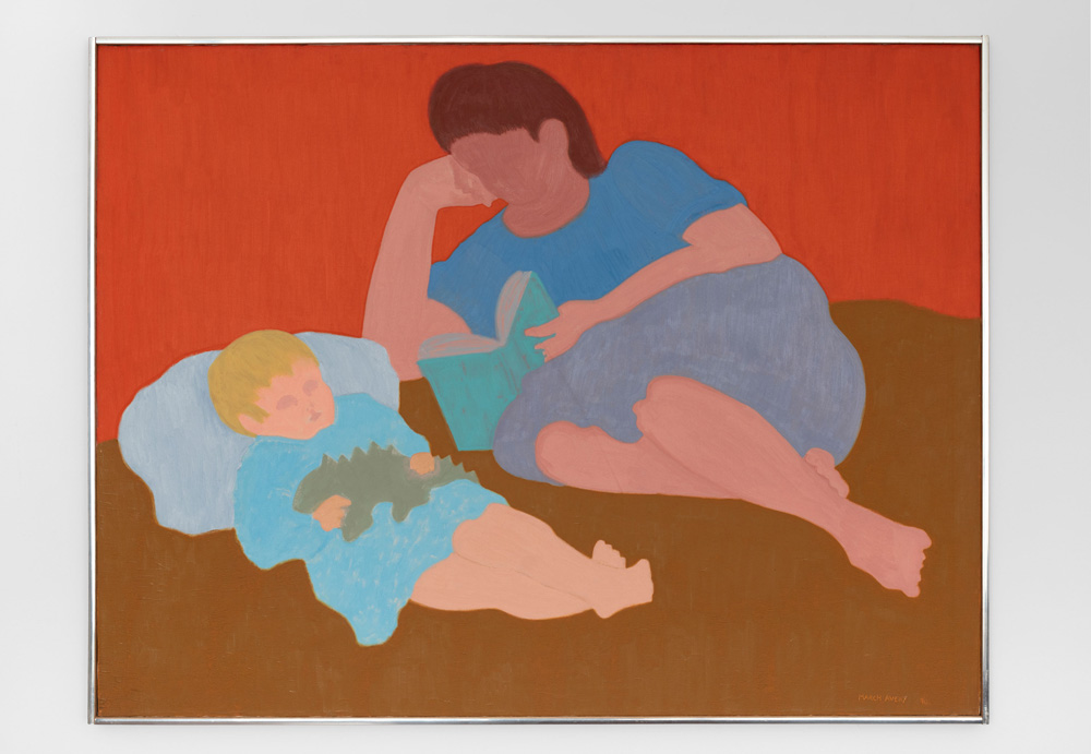March Avery, Bedtime Story (1989). ©March Avery, courtesy of the artist and Blum & Poe, Los Angeles/New York/Tokyo.
