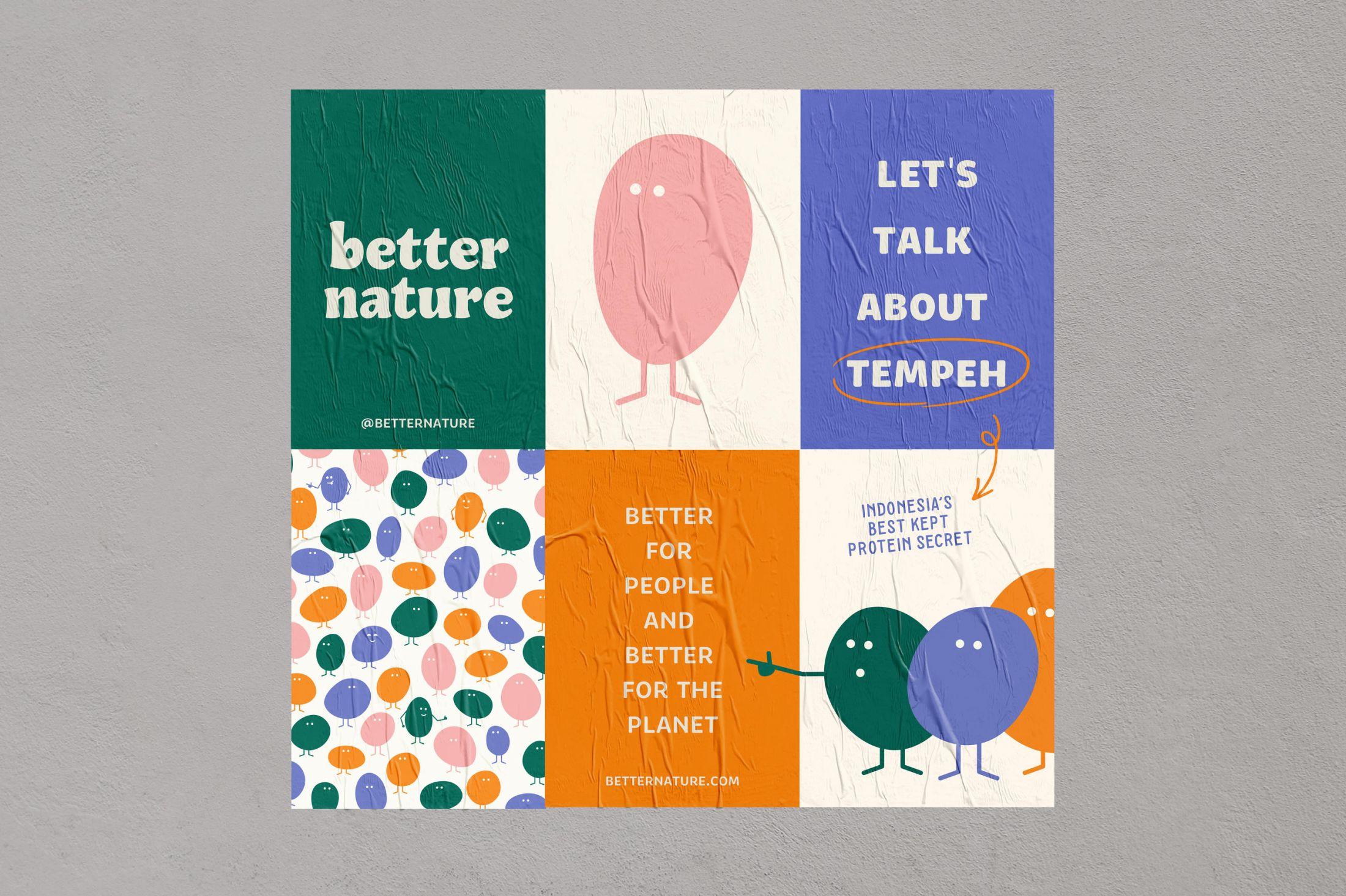 لشکر لوبیا / به تازگی سایت creativeboom کمپینی از برند Better Nature را معرفی کرده است. در این کمپین لشکری از لوبیاهای شاد و شوخ طبع در کنار هم به فعالیت میپردازند.
