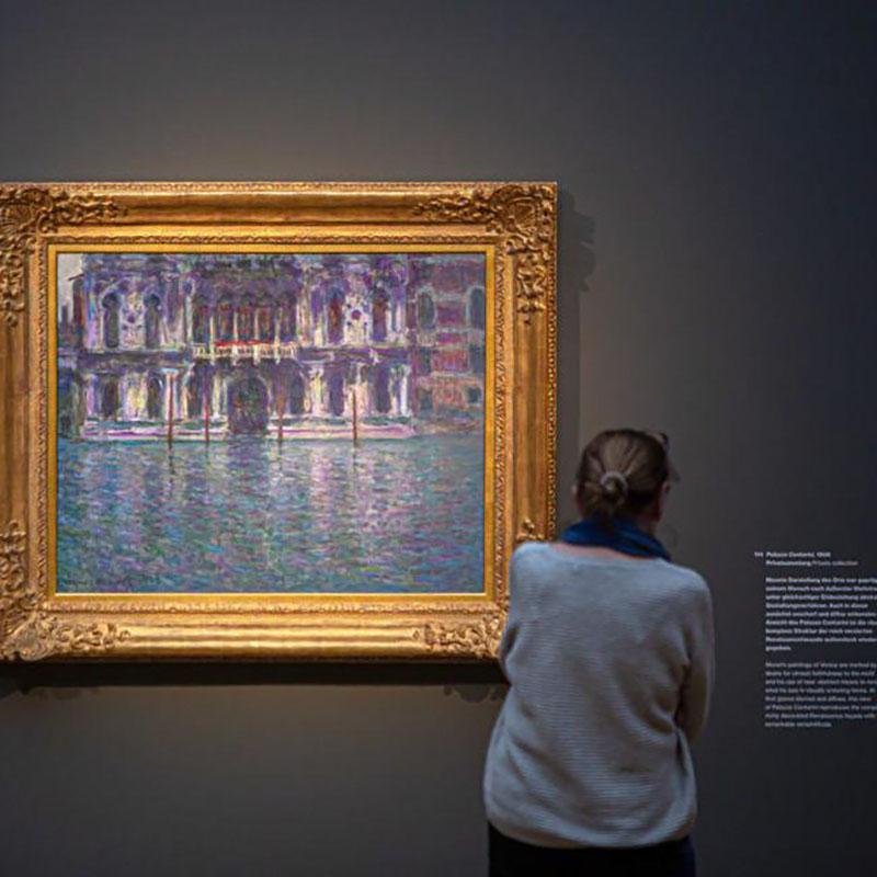 نمایشگاه مجازی آثار کلود مونه
