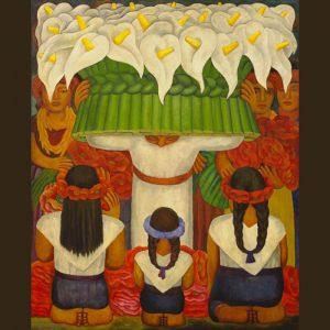 نقاشی دیواری هنرمندان مکزیکی آمریکایی