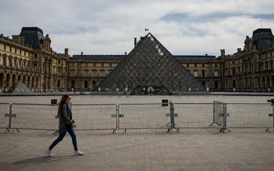افت 70 درصدی مخاطب موزه لوور