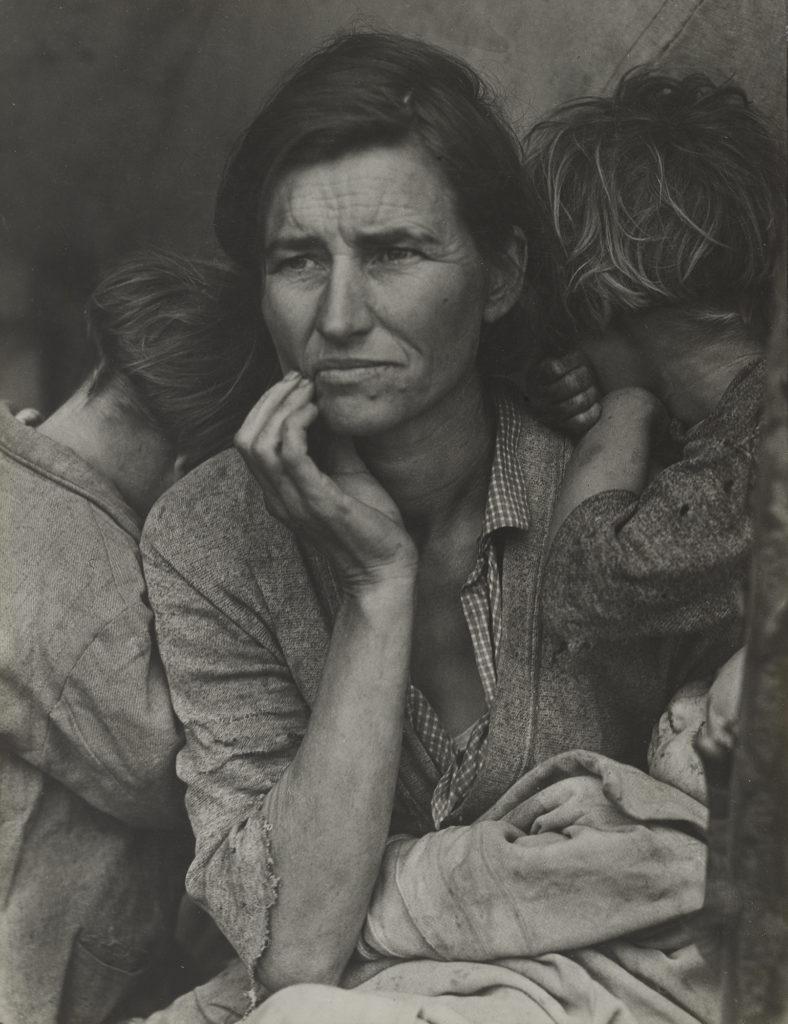 نمایش مجازی عکسهای دوروتیا لانژ در MoMA