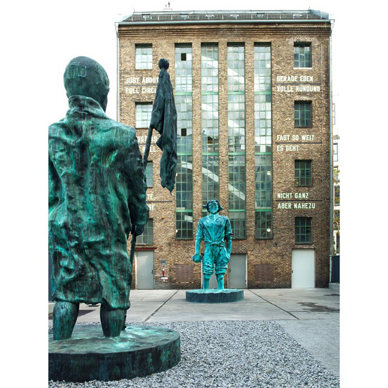 نمایشگاه مجسمه توماس شوت در برلین