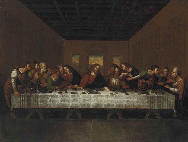 شام آخر لئوناردو داوینچی
