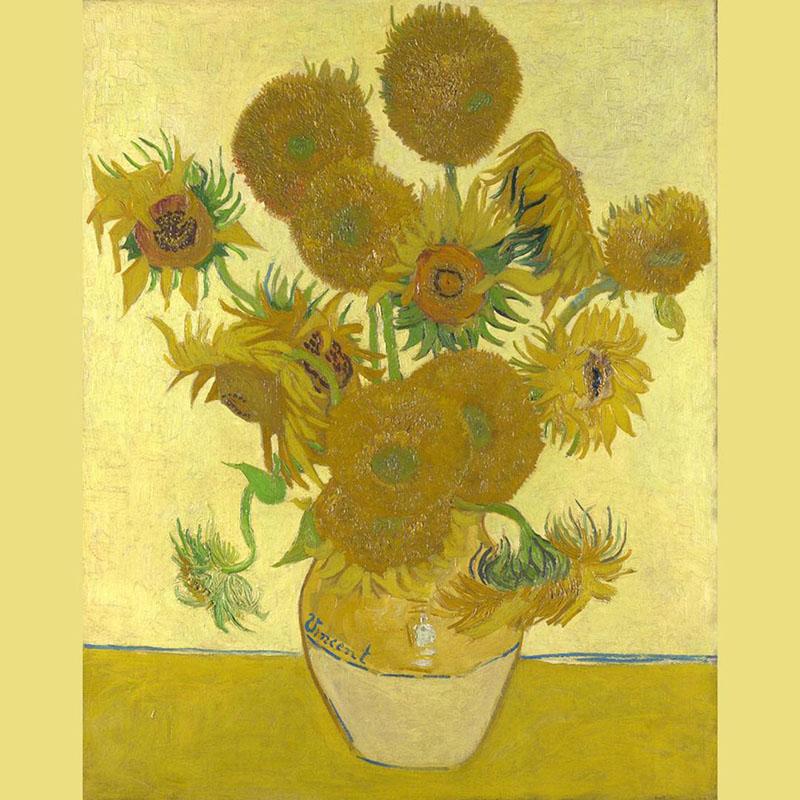 تابلو Sunflowers اثر ون گوک