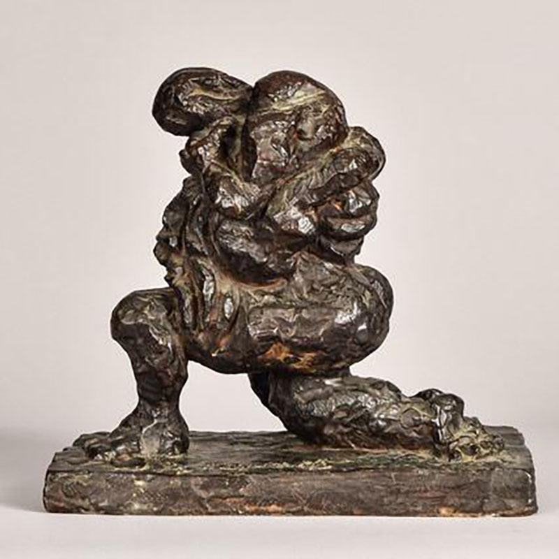 مجسمه Variation of the Theme of the Last Embrace اثر Jacques Lipchitz، قیمت 18 هزار دلار