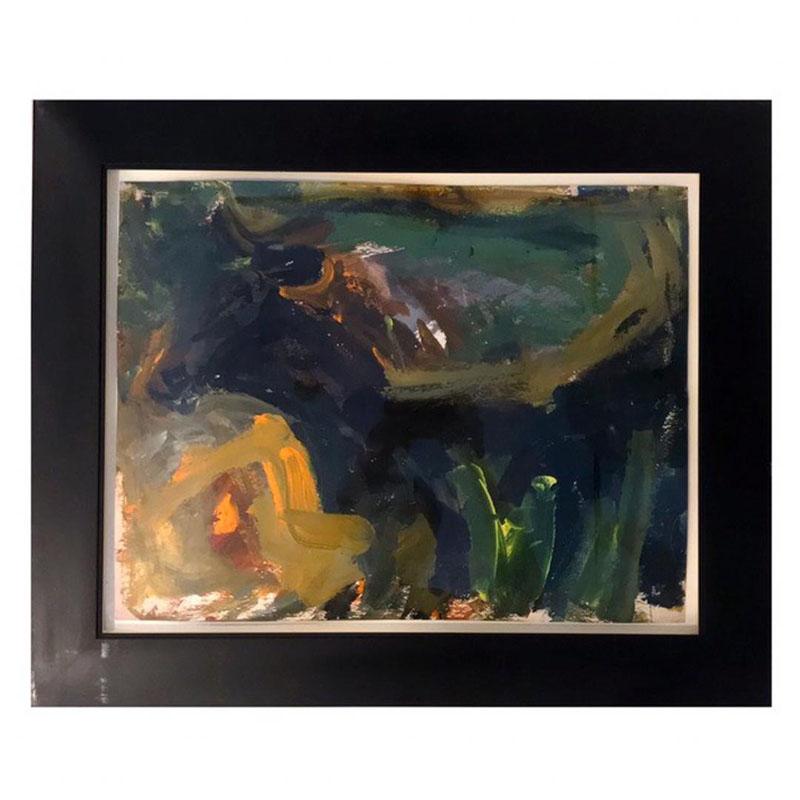 تابلو Bull اثر Elaine de Kooning، قیمت 44 هزار دلار