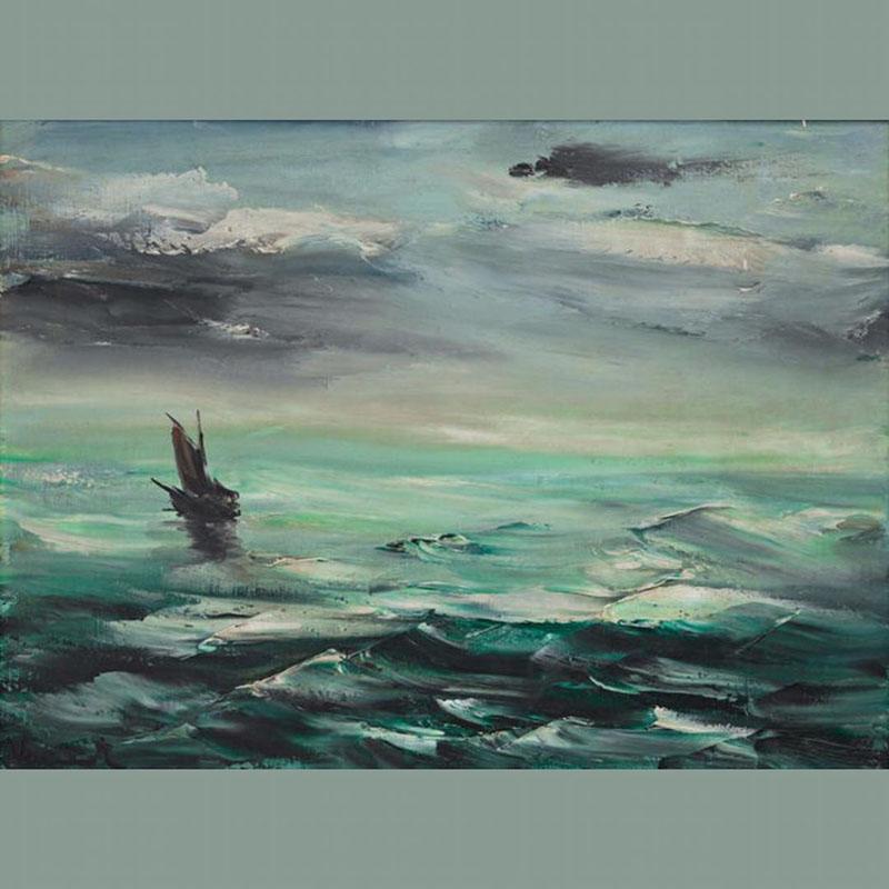 تابلو Marine اثر Maurice de Vlaminck، قیمت 160 هزار دلار