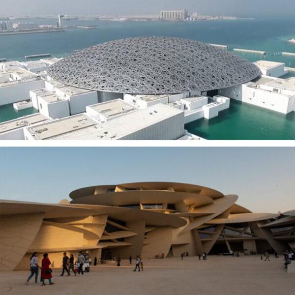 موزه لوور ابوظبی و موزه ملی قطر