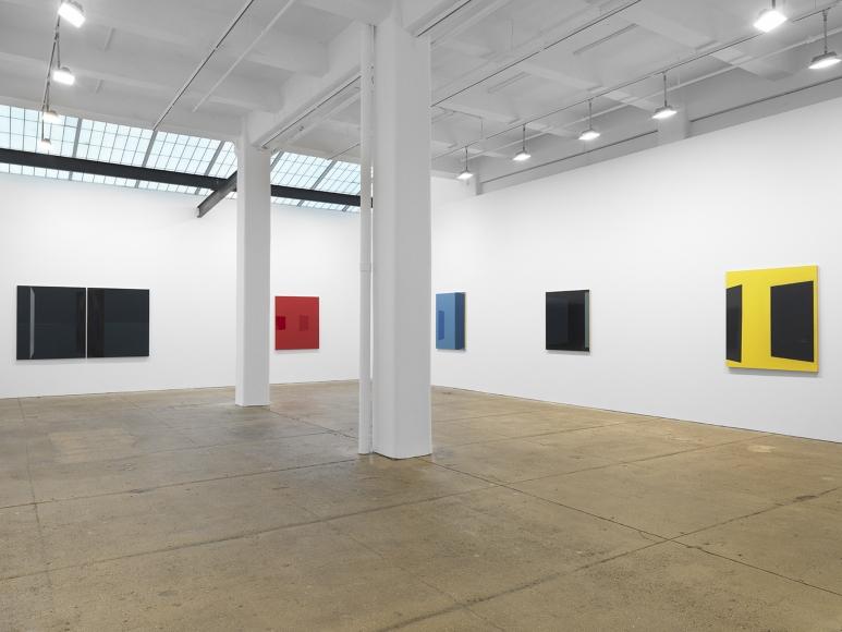 "Kate Shepherd, ""Surveillance,"" installation view, Galerie Lelong, New York, 2020. Courtesy of Galerie Lelong."