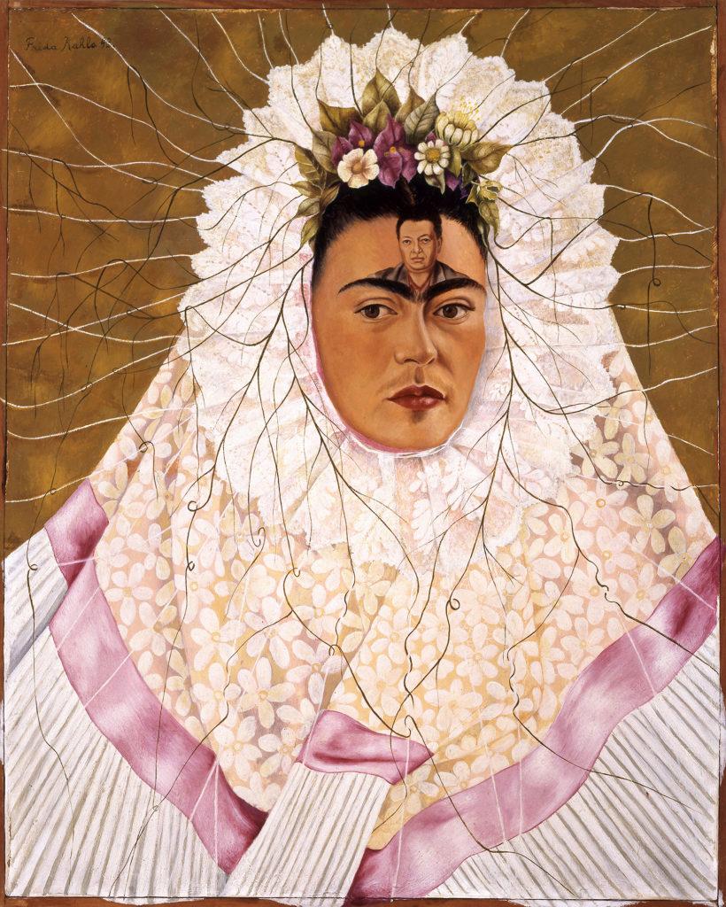 Frida Kahlo, Self-Portrait as a Tehuana (1943). © 2019 Banco de México Diego Rivera Frida Kahlo Museums Trust, Mexico, D.F. / Artists Rights Society (ARS), New York.