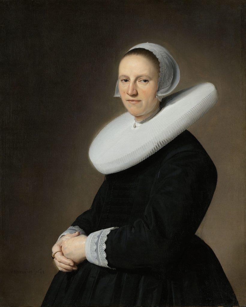 Jan Verspronck, Portrait of Adriana Croes (1644). Courtesy of the Rijksmuseum.