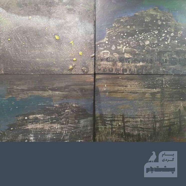 مروری بر نمایشگاه علی معمری