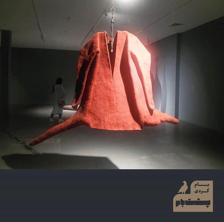 بامگردی پشت بام-نمایشگاه مرتضا بصراوی در گالری ایرانشهر