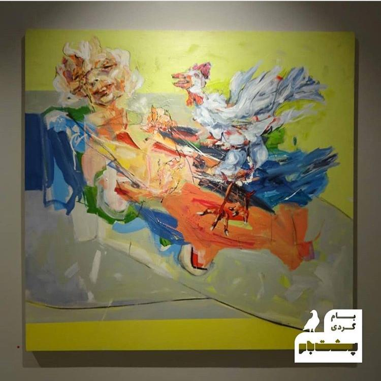 نمایشگاه نقاشیهای احسان ارجمند
