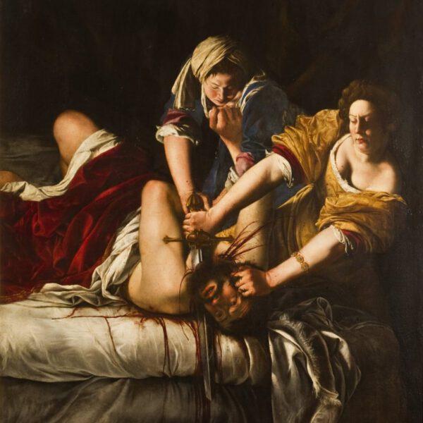 Artemisia Gentileschi, Judith Beheading Holofernes