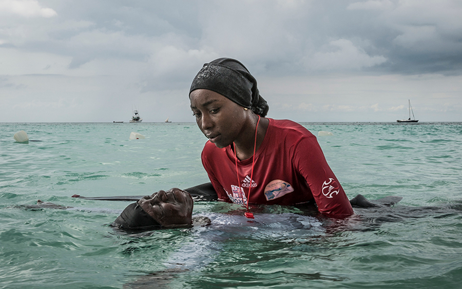 Image credit: From 'Finding Freedom in the Water' by Anna Boyiazis, awarded 2nd prize in the People, Stories category of the 2018 Photo Contest.