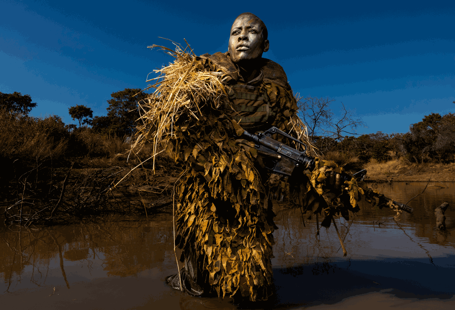 Image credit: 'Akashinga - the Brave Ones' by Brent Stirton, Getty Images, awarded 1st prize in the Environment, Singles category of the 2019 Photo Contest.