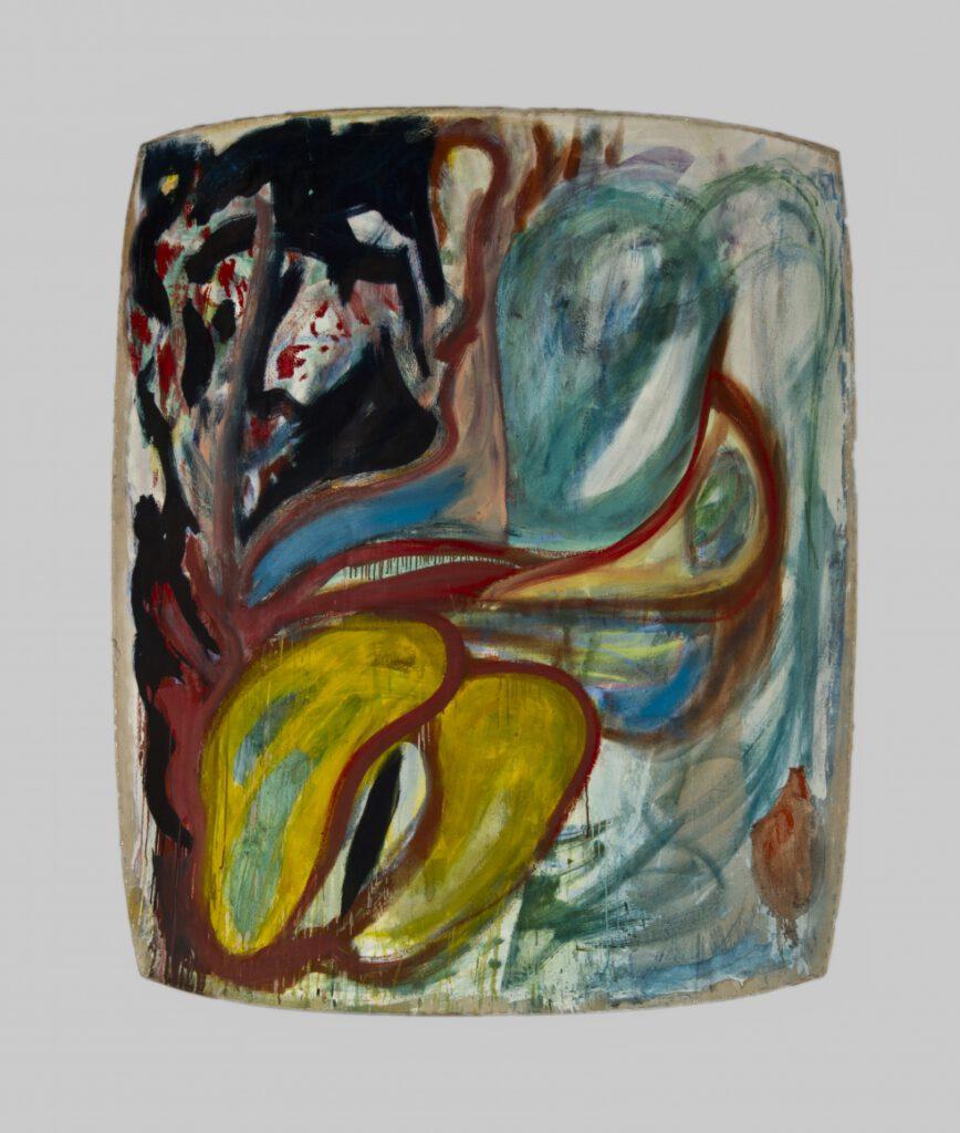 ران گورچف در اواخر دهه شصت میلادی شروع به ساختن نقاشیهای رنگ روغن بر روی بومهای مقعر و محدب کرد. آثار وی ترکیبی بین نقاشی و مجسمه سازی است که با رفتاری منحصر به فرد خود را به مخاطب ارائه میدهد.