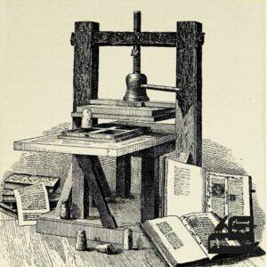 دستگاه چاپگوتنبرگ