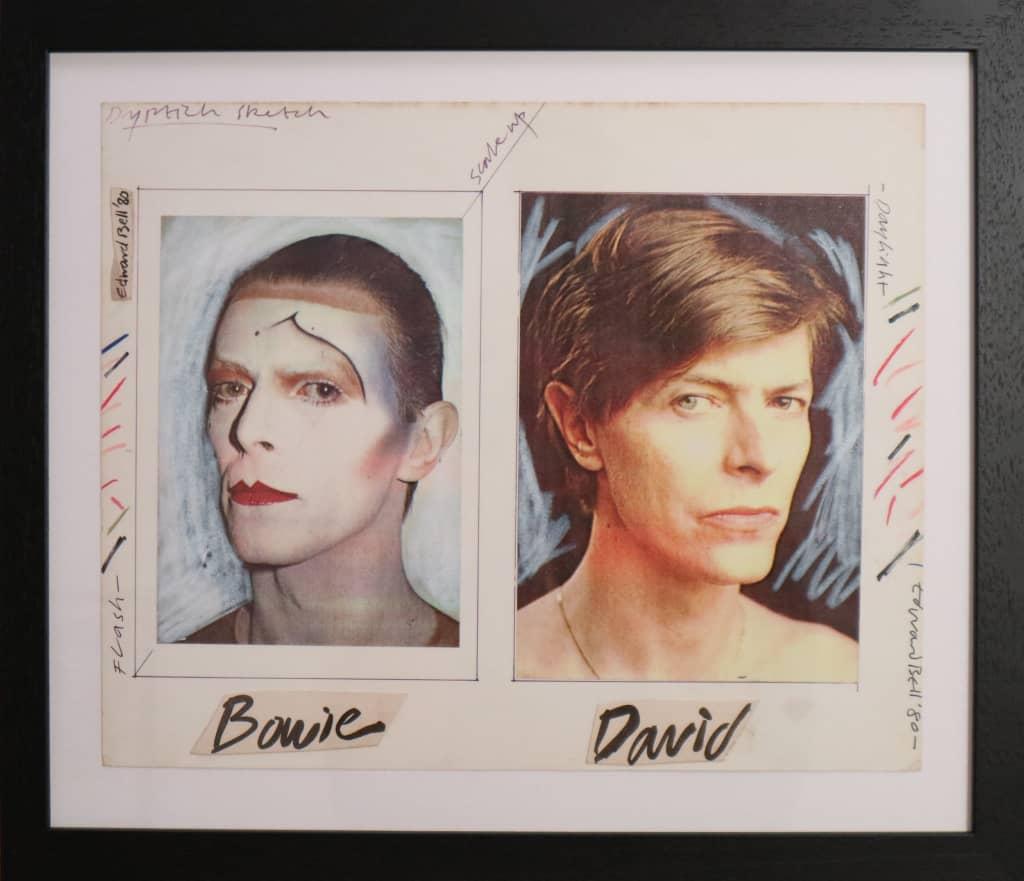 مزایده طرحهای اولیه آلبومهای David Bowie