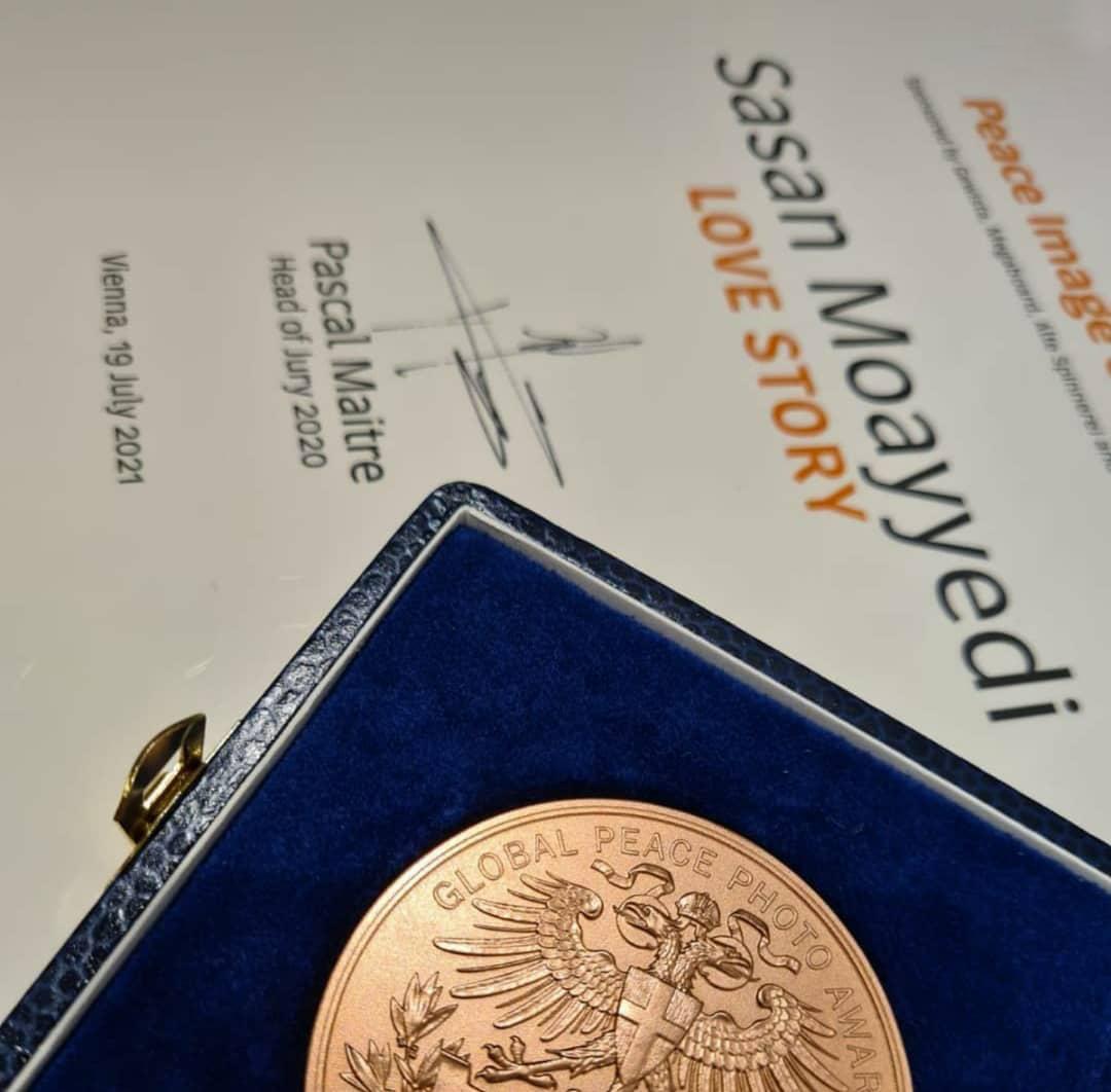 حکایت عاشقی برنده جایزه اصلی صلح و نشان آلفرد فرید در اتریش