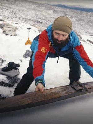 چوب اسکی ۱۳۰۰ ساله!